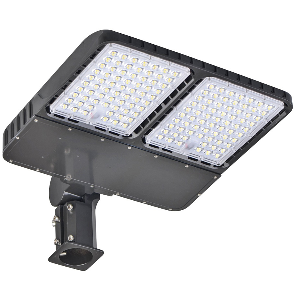 320 Watt Outdoor Led Motion Sensor Shoebox Light 5000k