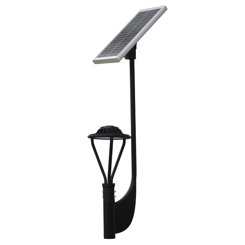 30w 3900 Lumens Solar Post Top Led Area Light Okaybulb