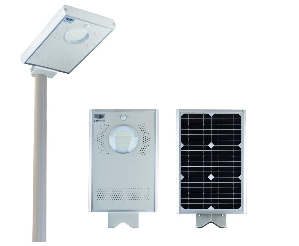 15w Solar Led Street Light Okaybulb