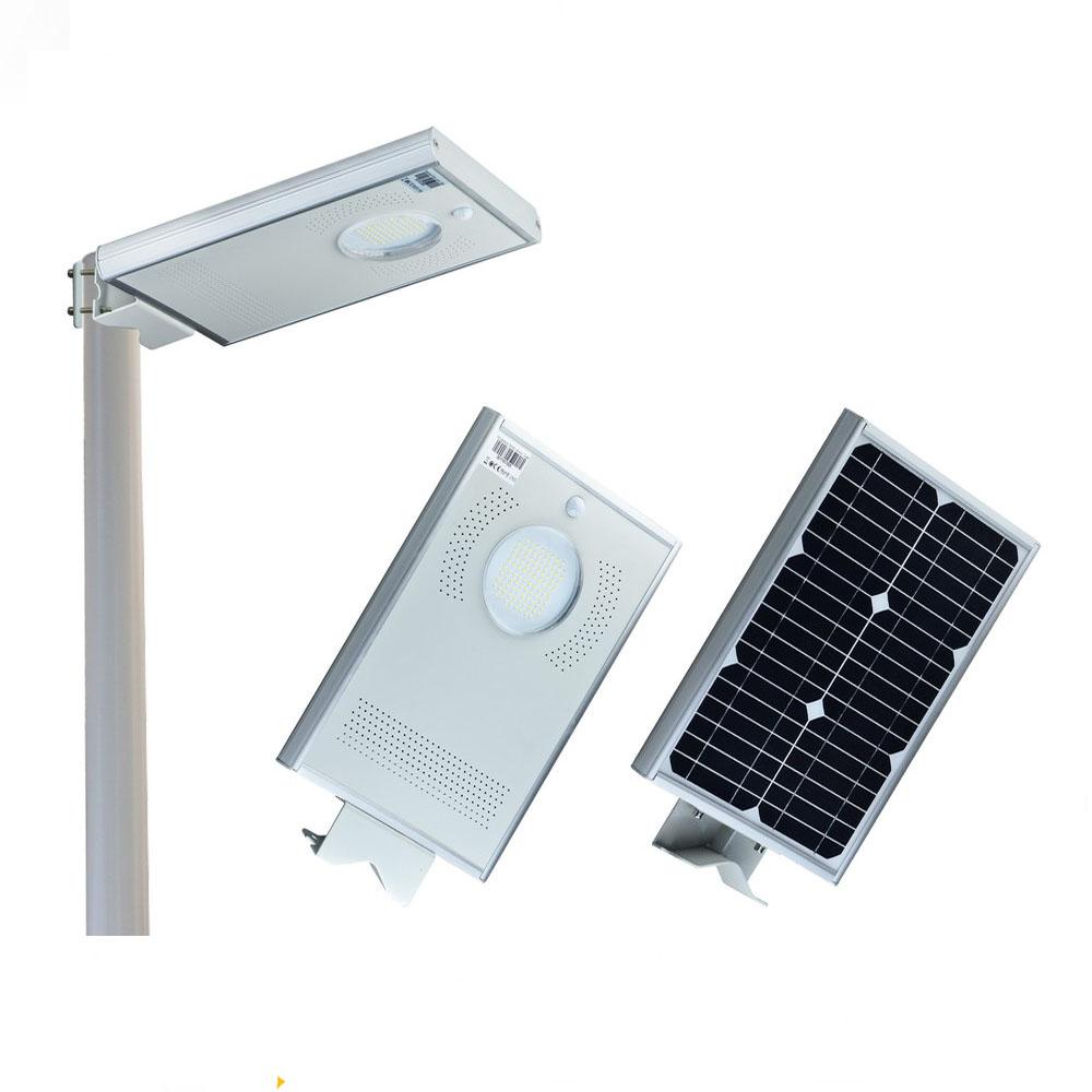30w Solar Led Street Light Okaybulb