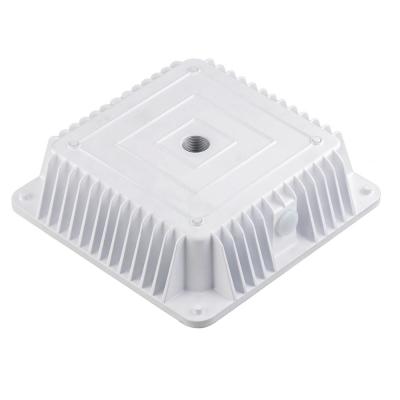 Led Canopy Light Fixtures 80w White Frame Okaybulb