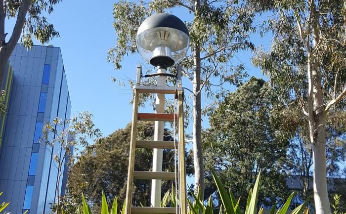 LED Post Top Retrofit Lamps For Landscape Light Used in Garden Street