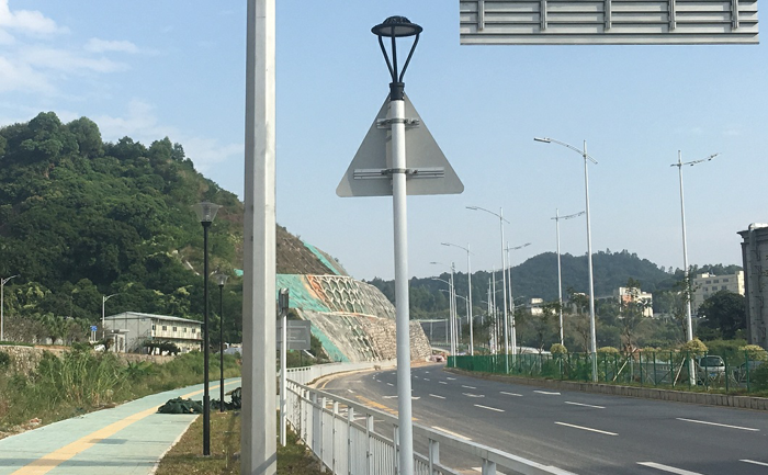 LED Area Light for Post Top & Pole Top Solutions to Streetscapes