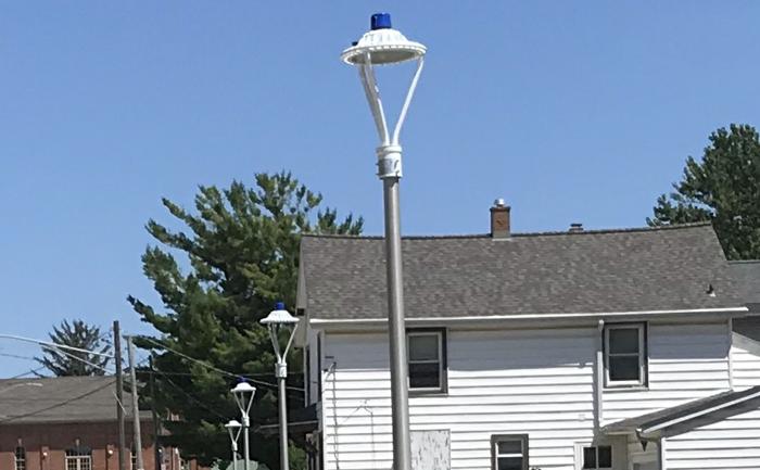 White Area Lamp 75w 4100K led area lights with Photocell Sensor
