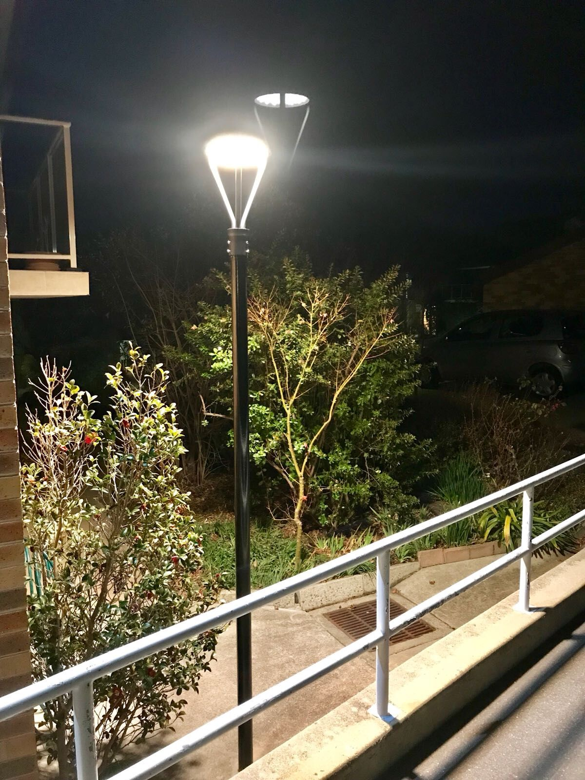 30w Led Post Top Area Light Fixtures Applied In Apartment