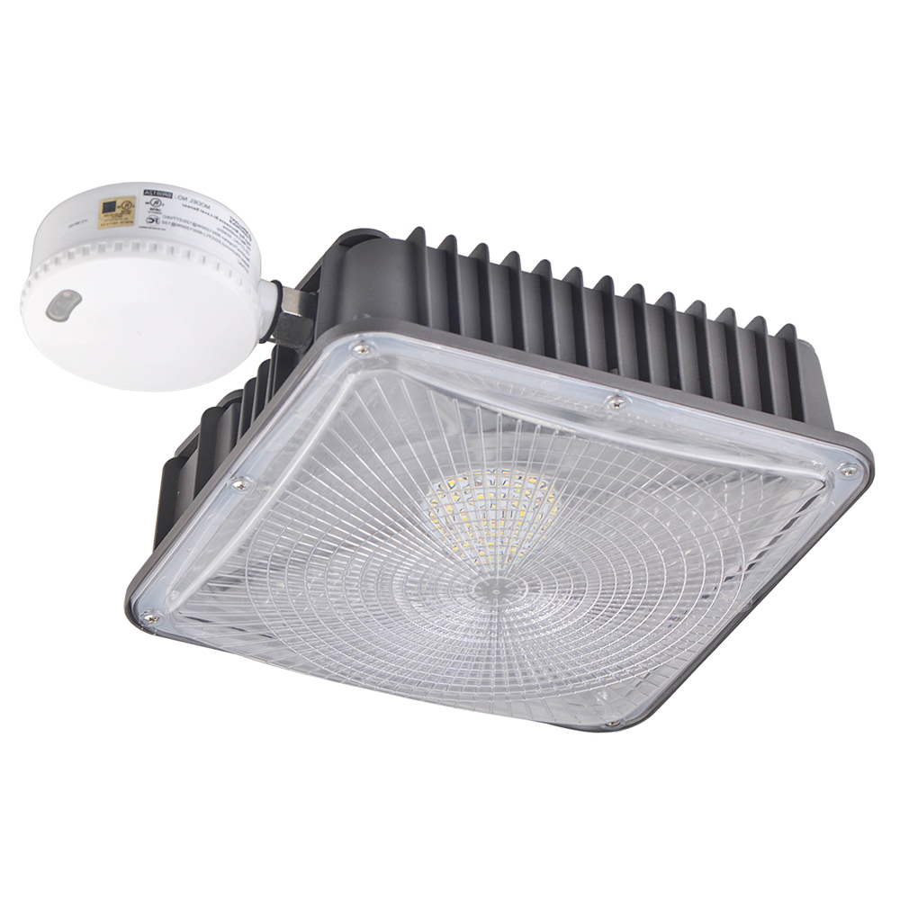 Led Canopy Lights: Led Canopy Light 50w With Sensor