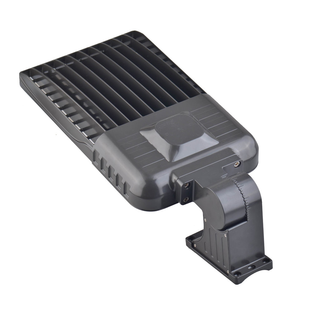 100w Arm Mounted Led Shoebox Parking Lot Light Dlc 5000k