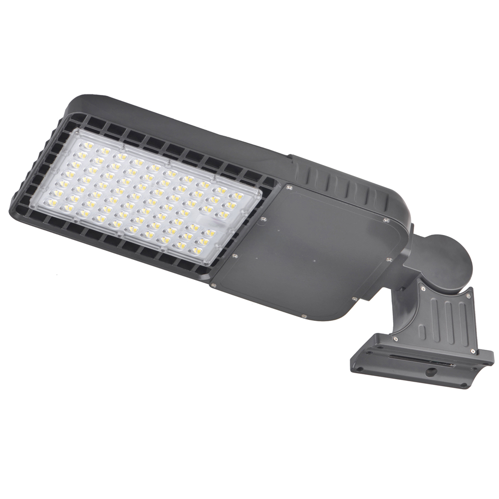 200w Led Shoebox Light Arm Mount 26000lm Okaybulb