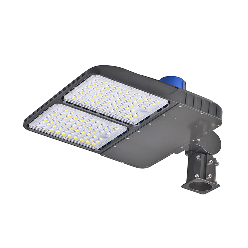 240 Watts Led Shoebox Parking Lot Lights 31200lm Okaybulb