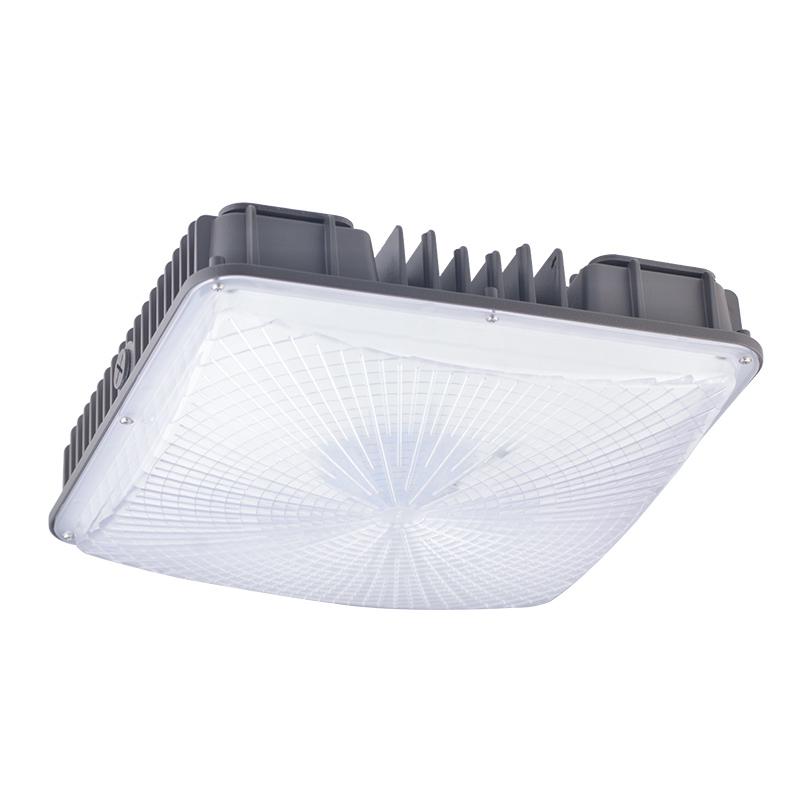 50w Led Canopy Light Fixture 5000k 6300lm Okaybulb