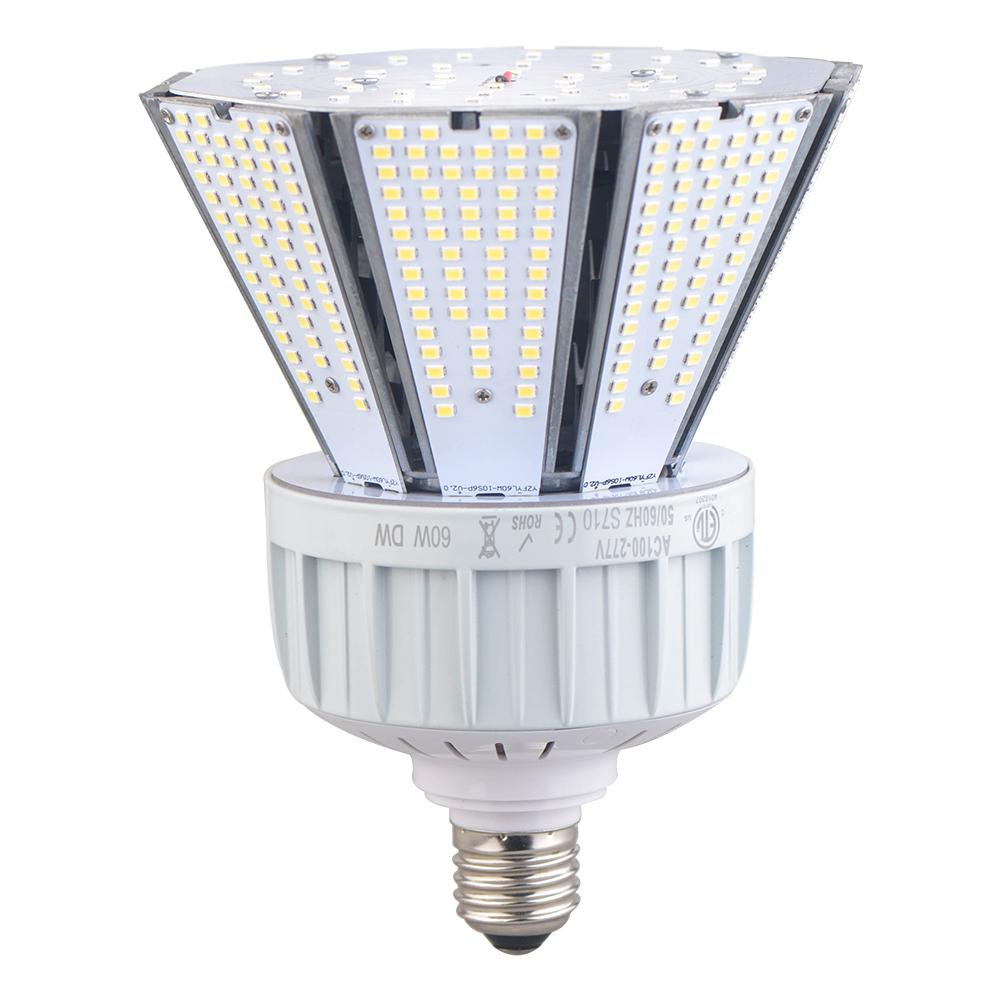 40 Watt LED Corn Bulb Light-5000K-Outdoor Fixture Bulb ...