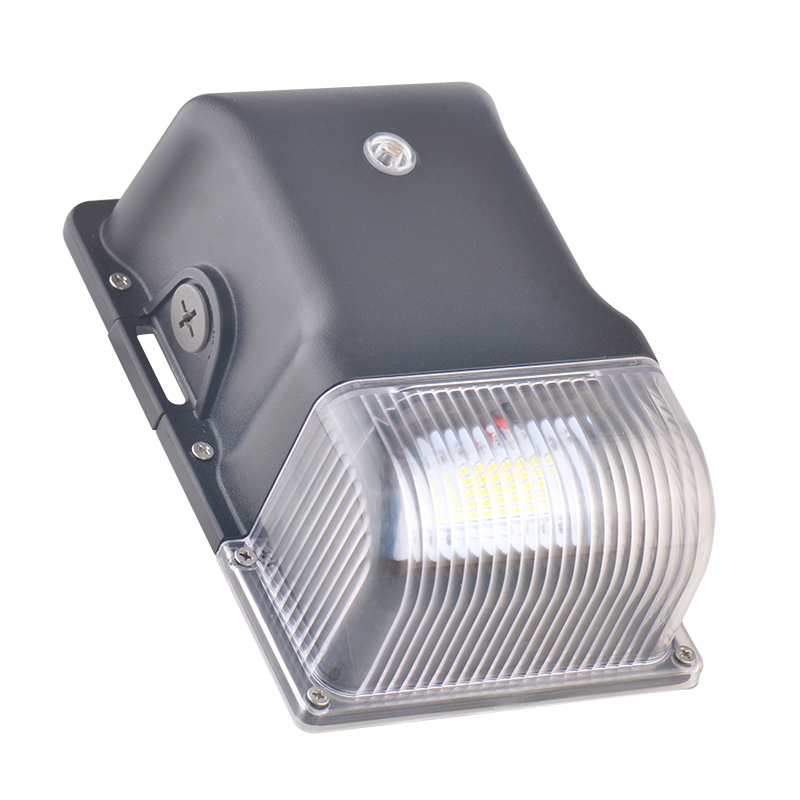 90 Degree 60W LED Wall Pack Light,MeanWell Driver,5000K,100-277VAC,ETL//DLC